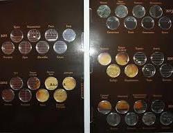 Новинка!!! Коллекционный альбом для 10 рублевых монет банка России посвящённых городам воинской славы