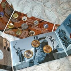 Главный секрет монумента в Трептов-парке в новой монетной открытке