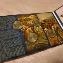 Новая нумизматическая открытка серии Города Воинской Славы