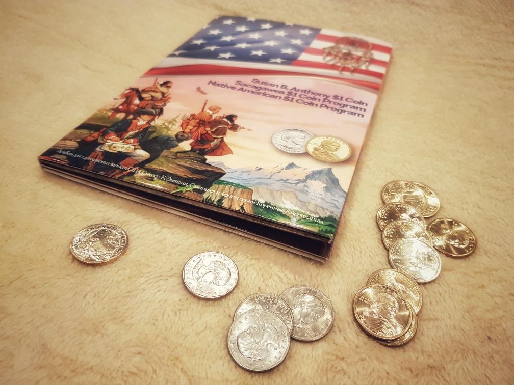 Пятый капсульный альбом для монет США
